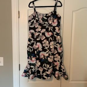 NWT Nordstrom Fit & Flare Floral Dress